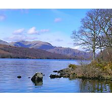 Coniston Water in Cumbria Photographic Print