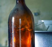 11.3.2014: Old Bottle in Abandoned Farm House by Petri Volanen
