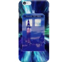 Through the Time Vortex iPhone Case/Skin