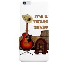 Acoustic Country iPhone Case/Skin