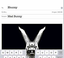 Mad Bunny by Penny Marcus
