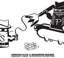 Sheriff Salt vs. Phugitive Pepper by mquach