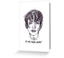 Lieutenant Dr. Fani Hurt Greeting Card