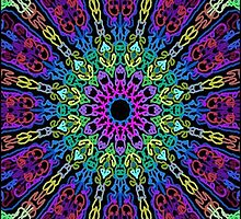 Kaleidoscope Black BG 10 by TerryBerry127