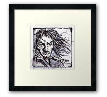 Jeqon, The Fallen Framed Print