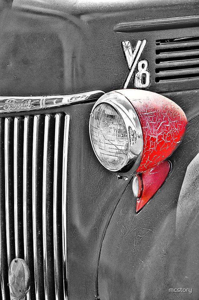 1944 Ford Pickup - Headlight - SC by Mary Carol Story
