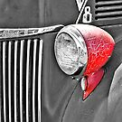 1944 Ford Pickup - Headlight - SC by Mary Carol Story