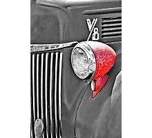 1944 Ford Pickup - Headlight - SC Photographic Print