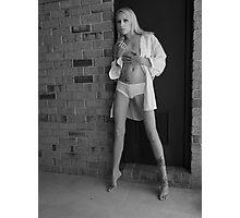 Jessica In White Panties I Photographic Print