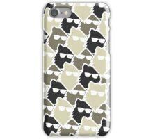 Wolf Wall - Mono iPhone Case/Skin