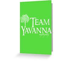 Team Yavanna  Greeting Card