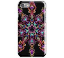Kaleidoscope Black BG 20 iPhone Case/Skin