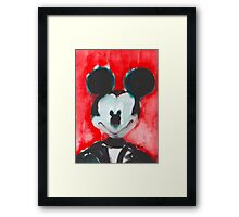 Mickey -Selfie 1 Framed Print