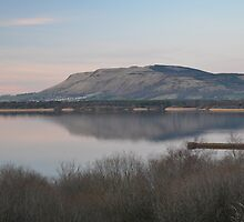 Spring evening over Loch Leven by Pete Johnston