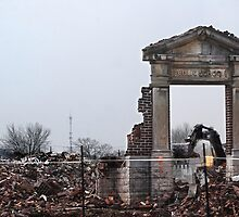 March Break #2 (School Demolition) by Laurie Minor