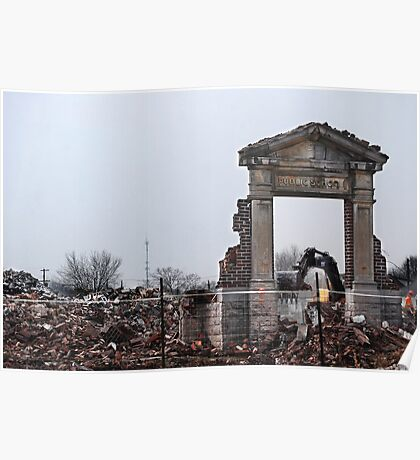 March Break #2 (School Demolition) Poster