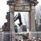 March Break (School Demolition) by Laurie Minor