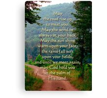 Irish blessing (for sarnia2) Canvas Print