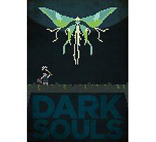 Pixel Art - Dark Souls Moonlight Butterfly Photographic Print