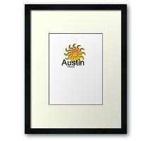 Austin Texas vacation Framed Print