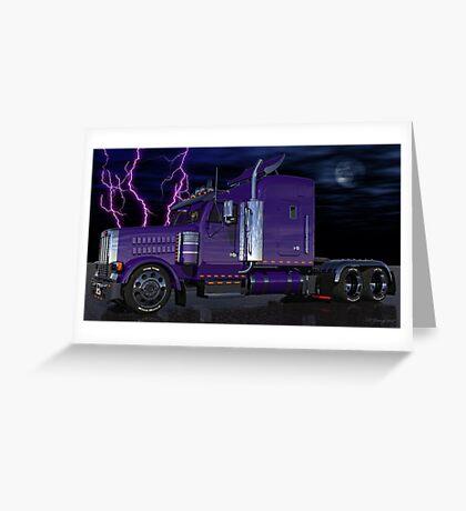 Thunder Rolls Greeting Card