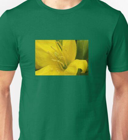 Primrose ~ Yellow Delight ~ close-up Unisex T-Shirt