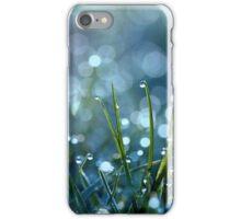 Fairy Drops Aqua Blue iPhone Case/Skin