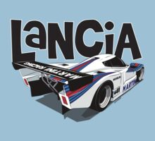 1985 Lancia LC2 Group C Car One Piece - Short Sleeve