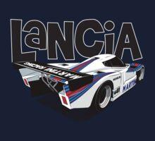1985 Lancia LC2 Group C Car Kids Tee