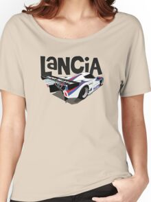 1985 Lancia LC2 Group C Car Women's Relaxed Fit T-Shirt