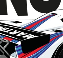 1985 Lancia LC2 Group C Car Sticker