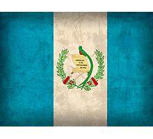 Guatemala Flag Photographic Print
