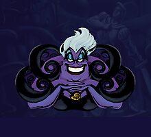 Ursula POP [ The Little Mermaid ] tech case by Alliezo