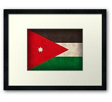 Jordan Flag Framed Print