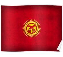 Kyrgyzstan Flag Poster