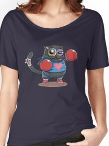 BOXERCAT: A lover and a fighter Women's Relaxed Fit T-Shirt