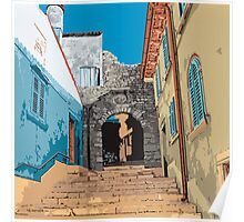 Old Town steps, Rovinj Poster
