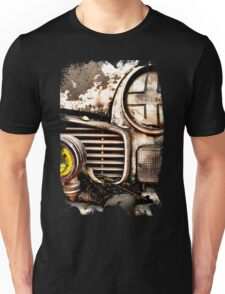 Vintage Abandoned Cars Abstract  Unisex T-Shirt