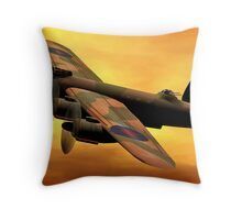 Lancaster MK II Throw Pillow