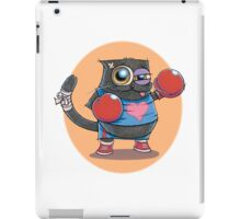 BOXERCAT: A lover and a fighter iPad Case/Skin