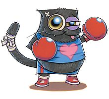 BOXERCAT: A lover and a fighter by CATGEEKStudio