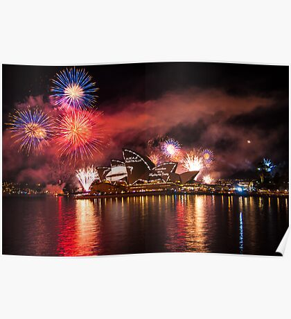 Fleet Review Fireworks Poster