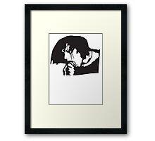 Glenn Danzig Misfits Framed Print