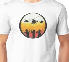 Slings and arrows Unisex T-Shirt