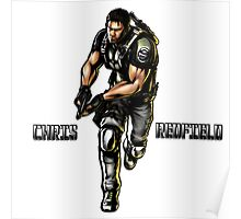 Chris RedField Poster