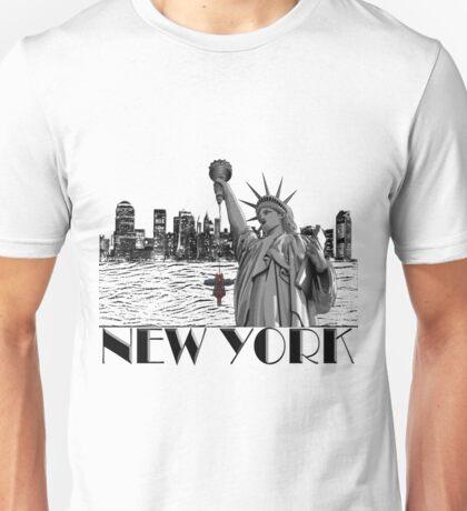 Hanging in New York Unisex T-Shirt