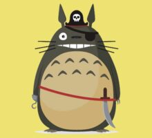 Pirate Totoro by Lucescu