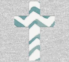 Patterned Cross *NEW* Baby Tee