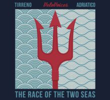 Tirreno-Adriatico Trident Tee by VeloVoices
