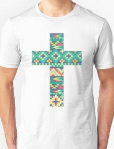 Patterned Cross 2 *NEW* Unisex T-Shirt